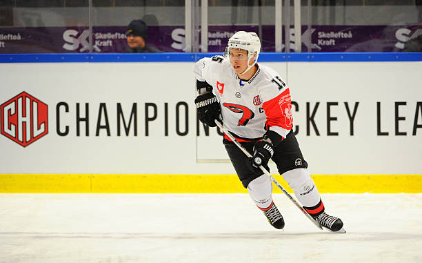 SWE: Skelleftea AIK v JYP Jyvaskyla - Champions Hockey League