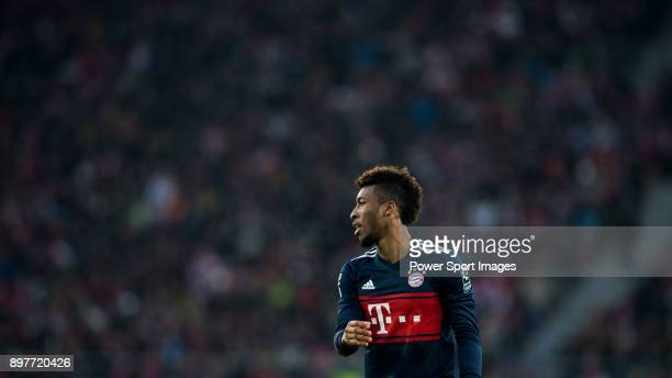 Forward Kingsley Coman of FC Bayern Muenchen in action during the Bundesliga match between VfB Stuttgart and FC Bayern Muenchen at the MercedesBenz...