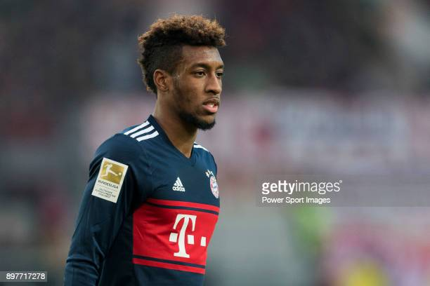 Forward Kingsley Coman of FC Bayern Muenchen looks on during the Bundesliga match between VfB Stuttgart and FC Bayern Muenchen at the MercedesBenz...