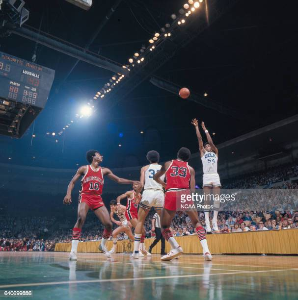 UCLA forward Marques Johnson during the NCAA Photos via Getty Imagess via Getty Images Men's National Basketball Final Four semifinal game against...