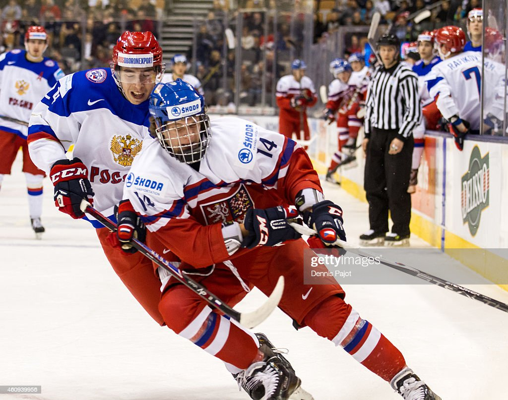 Czech Republic v Russia - 2015 IIHF World Junior Championship : News Photo