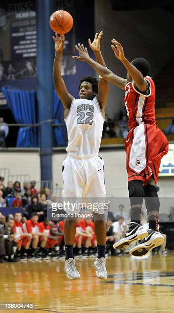 Forward Quincy Diggs of the Akron Zips puts up a shot during a game with the Youngstown State Penguins at Rhodes Arena in Akron Ohio The Zips won 8862
