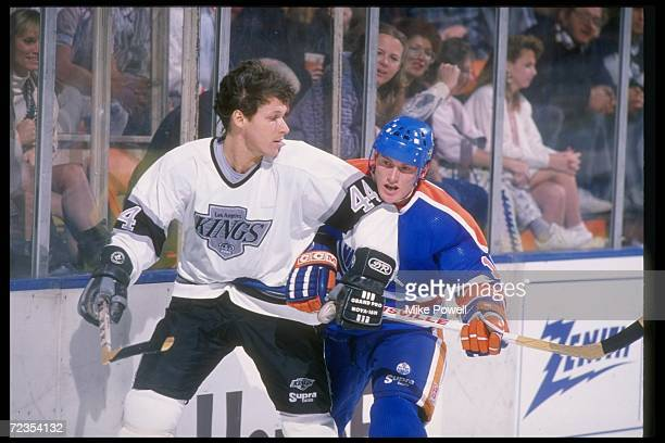 Forward Ron Duguay of the Los Angeles Kings Mandatory Credit Mike Powell /Allsport