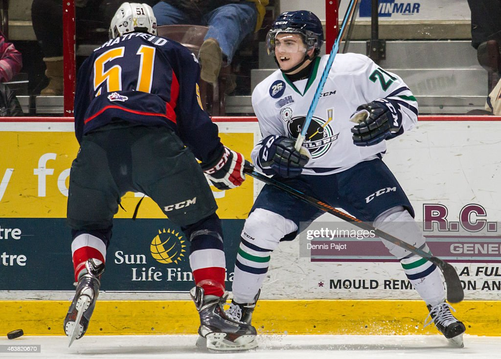 Plymouth Whalers v Windsor Spitfires : News Photo