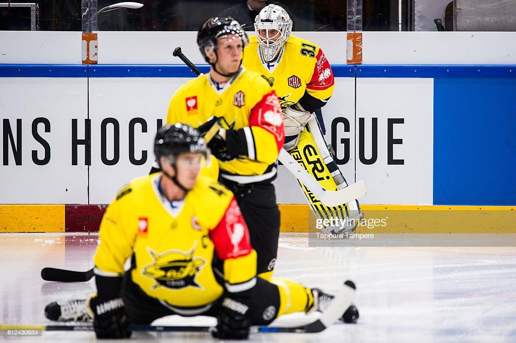 FIN: Tappara Tampere v SaiPa Lappeenranta - Champions Hockey League