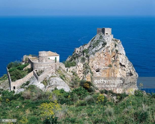 Forza d'Agro Castle, 11th-12th century, Sicily, Italy.