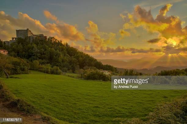 fosdinovo, tuscany, italy - massa stock pictures, royalty-free photos & images