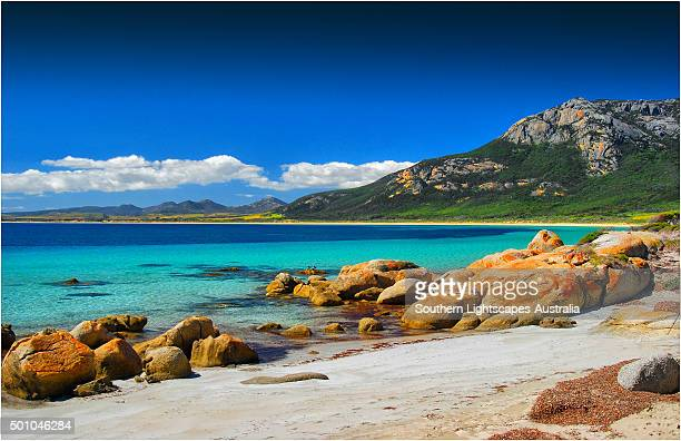 Fotheringate beach at Trouser's Point, Lacota, Flinders Island, Bass Strait, Tasmania.
