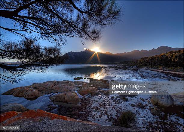Fotheringate beach, Lacota, Strzelecki range, Flinders Island, Tasmania.