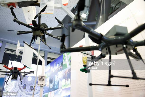 Foto acc drones seen at the Kongres 590 in Rzeszow - one of the biggest investors trades in Poland.
