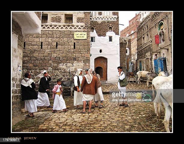 CONTENT] Foto hecha en pleno centro de Sana'a la capital de Yemen