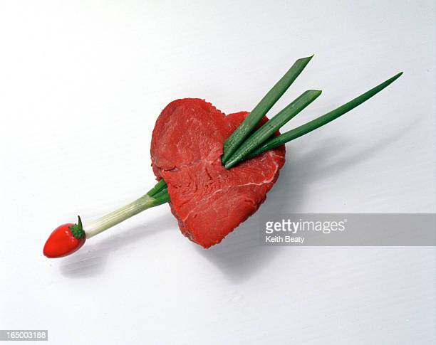 foto illustration tenderloin as heart