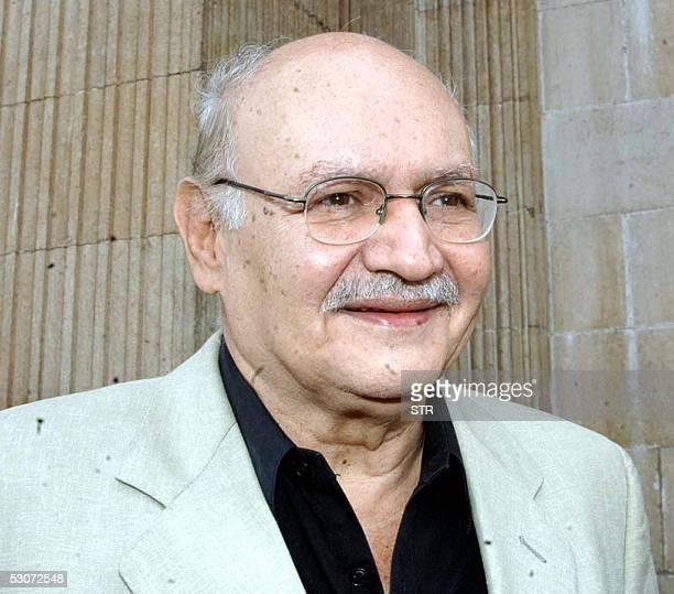 Fotografia tomada el 10 de mayo de 2005 en Ciudad de Guatemala de Rodrigo Asturias ex comandante guerrillero mas conocido como Gaspar Ilom y ex...