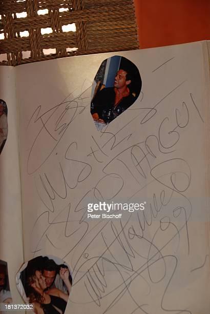 Fotos von Mariah Carey im Gästebuch von Henriette von Bohlen und Halbach Homestory Villa Bled Targui Marrakesch Marokko Nordafrika Afrika Residenz...