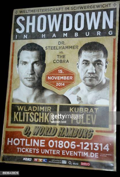 Fototermin SchwergewichtsboxWMKampf zwischen Weltmeister Wladimir Klitschko und Herausforderer Kubrat Pulev Kitschko sauer Kubrat Pulev kam nicht zur...