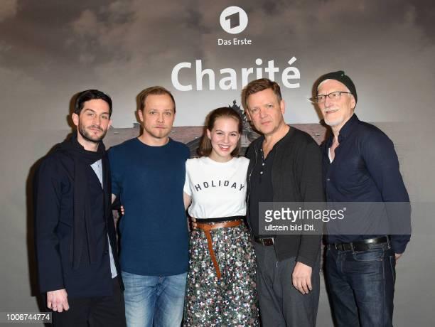 Fototermin Charité' neue historische Eventserie im Ersten am in Hamburg Serien im Hauptabendprogramm in sechs Folgen ab März 2017 Christoph Bach...