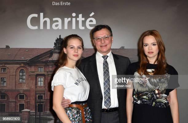 Fototermin Charité' neue historische Eventserie im Ersten am in Hamburg Serien im Hauptabendprogramm in sechs Folgen ab März 2017 Alicia Gräfin von...