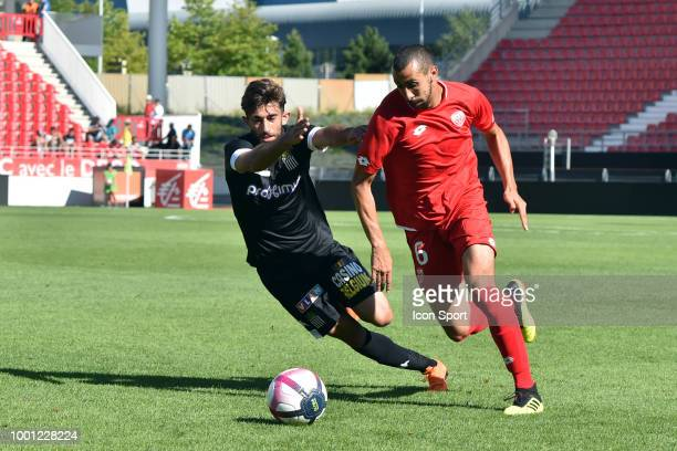 Bobby ALLAIN of DFCO during the Friendly match between Dijon and Sporting Charleroi at Stade Gaston Gerard on July 18 2018 in Dijon France