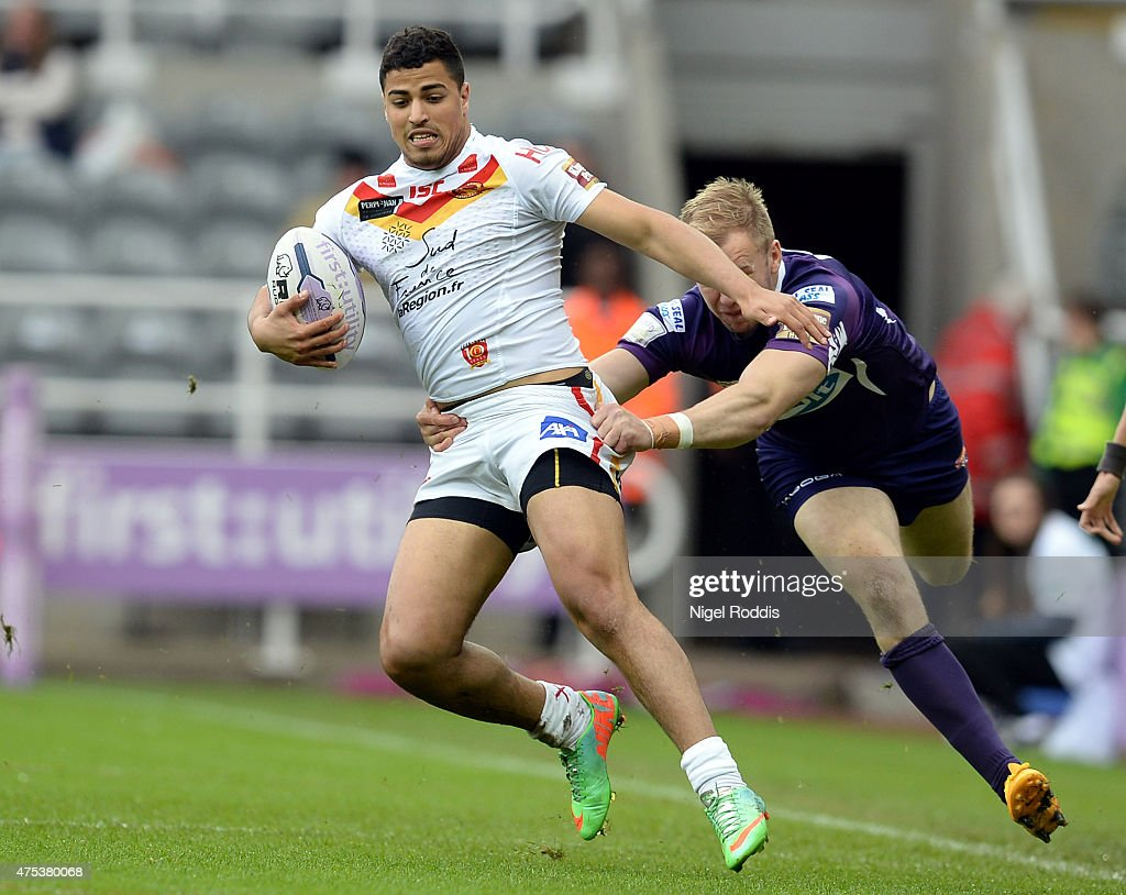 Catalans Dragons v Huddersfield Giants - Magic Weekend : News Photo