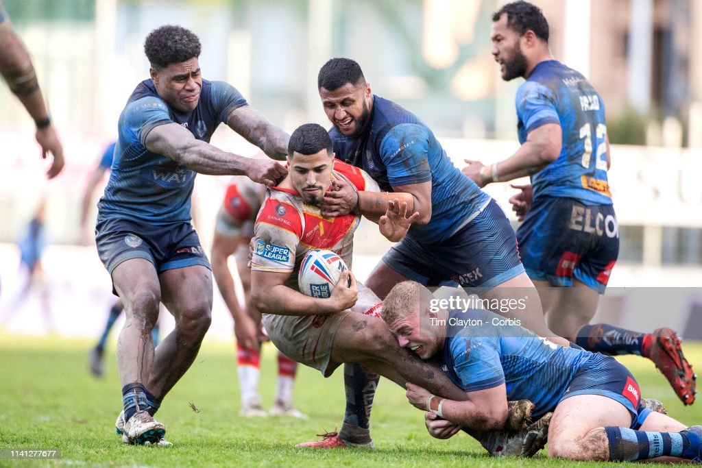 Catalans Dragons V St. Helens : News Photo