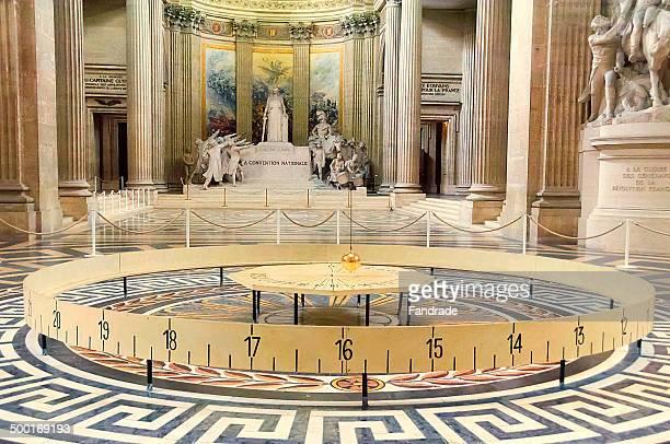Foucault pendulum Pantheon Paris