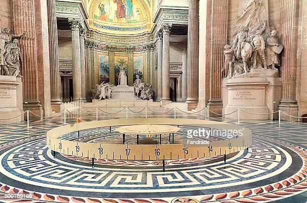 Foucault pendulum Pantheon