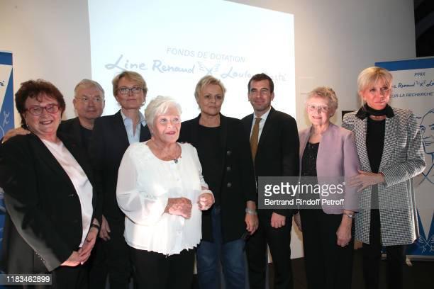 Fouder of Handi'Chiens MarieClaude Lebret Dominique Besnehard Claude Chirac Line Renaud Muriel Robin Line Renaud Loulou Gaste Endowment Fund Award...