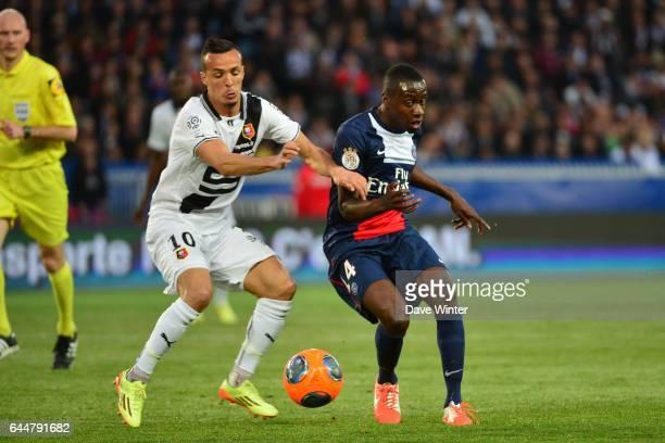 Foued KADIR / Blaise MATUIDI Paris Saint Germain / Rennes 36eme journee de Ligue 1 Photo Dave Winter / Icon Sport