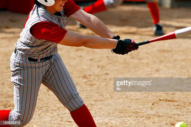 foul ball - softball stock pictures, royalty-free photos & images