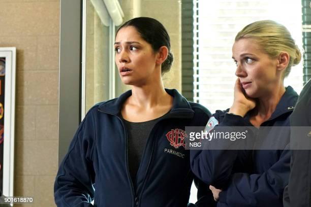 FIRE 'Foul Is Fair' Episode 609 Pictured Miranda Rae Mayo as Stella Kidd Kara Killmer as Sylvie Brett