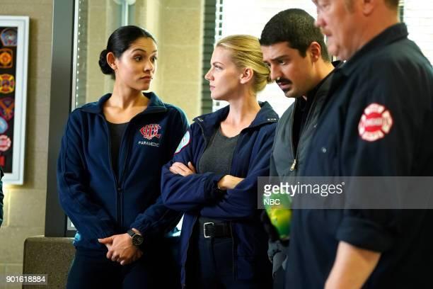 FIRE 'Foul Is Fair' Episode 609 Pictured Miranda Rae Mayo as Stella Kidd Kara Killmer as Sylvie Brett Yuri Sardarov as Otis Christian Stolte as Mouch