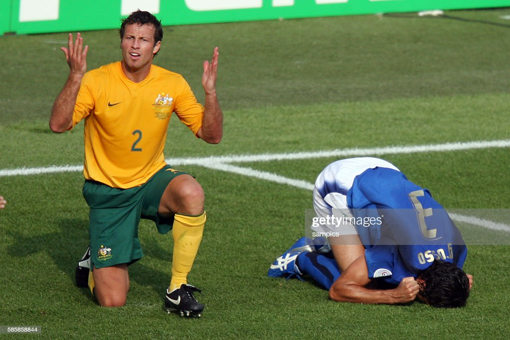 Soccer -2006 FIFA World Cup Round of Last 16 - Italy vs. Argentina : News Photo