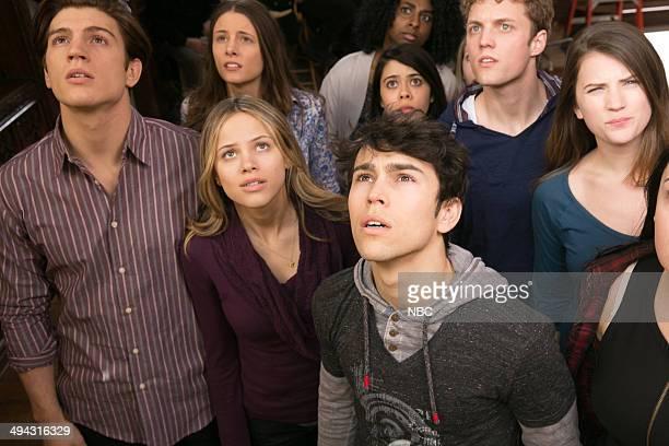 CRISIS Found Episode 109 Pictured Adam Scott Miller as Kyle Devore Halston Sage as Amber Fitch Max Schneider as Ian Martinez Brandon Ruiter as Luke...