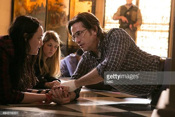 CRISIS 'Found' Episode 109 Pictured Stevie Lynn Jones as Beth Ann Gibson Dermot Mulroney as Francis Gibson