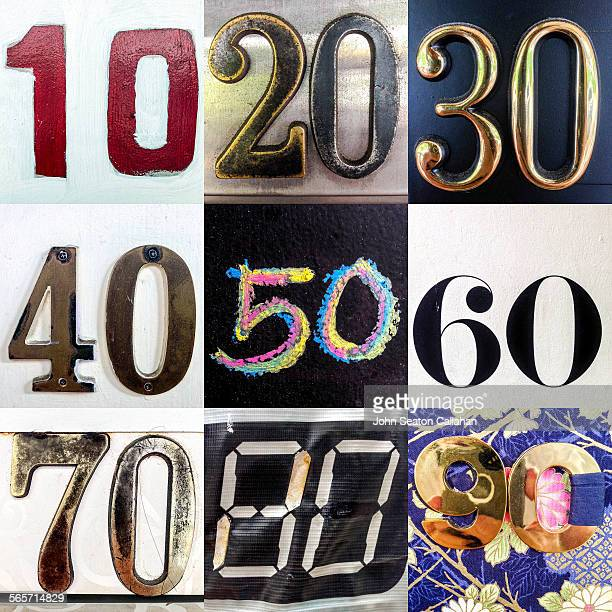 found numbers - number 60 stock photos and pictures