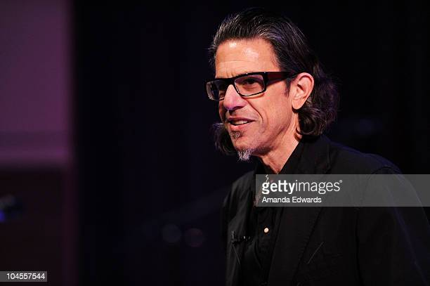 Foundation and MusiCares Vice President Scott Goldman participates in 'An Evening With Alan Parsons' at the GRAMMY Museum on September 29 2010 in Los...