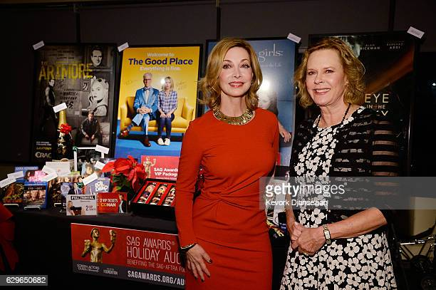Foundation Board Member Sharon Lawrence and SAG Awards Committee Chair and SAGAFTRA Foundation President JoBeth Williams attend the 23rd annual SAG...