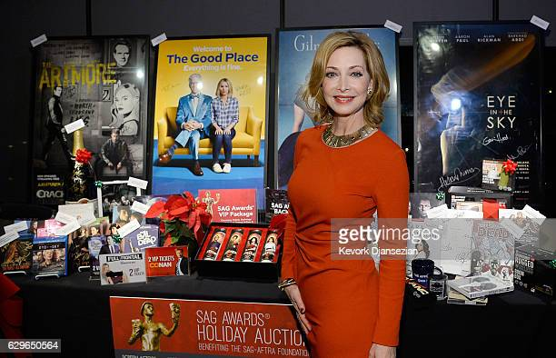 Foundation Board Member Sharon Lawrence attends the 23rd annual SAG Awards nominations announcement at Pacific Design Center on December 14 2016 in...