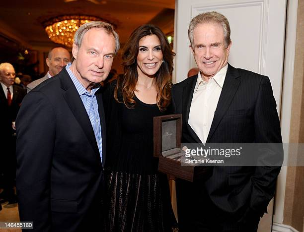 MPTF Foundation CEO Ken Scherer actress Jo Champa and actor Warren Beatty attend the 100th anniversary celebratio of the Beverly Hills Hotel...