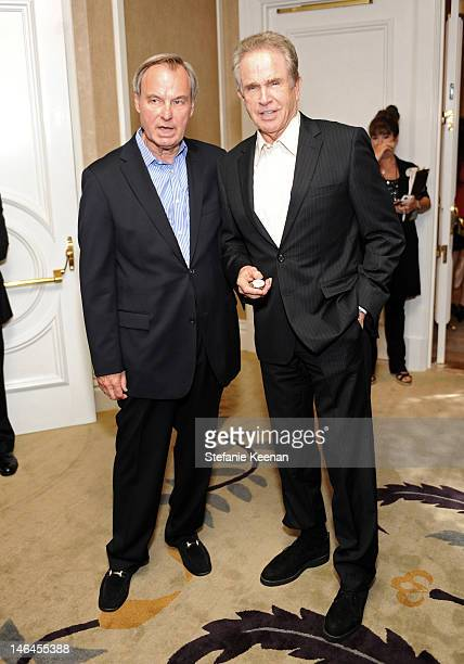 Foundation CEO Ken Scherer and actor Warren Beatty attend the 100th anniversary celebratio of the Beverly Hills Hotel Bungalows supporting the Motion...
