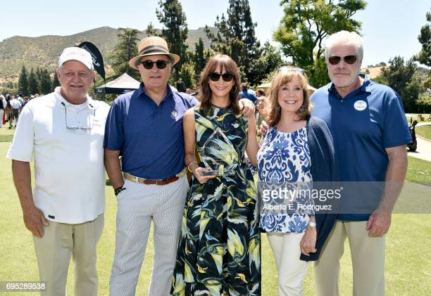 Foundation Dave Hutton Actor Andy Garcia actress Rashida Jones SAGAFTRA Foundation Executive Director Cyd Wilson and actor Ron Perlmanattend the...