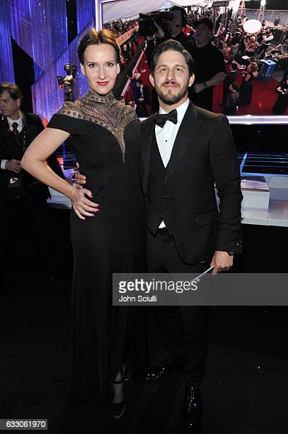 Foundation Director of Actors Programs Rochelle Rose and talent agent Franklin Latt attend The 23rd Annual Screen Actors Guild Awards Cocktail...