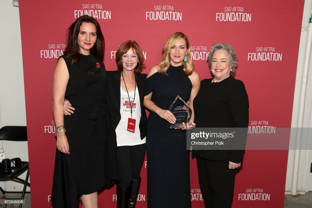 SAG-AFTRA Foundation Patron of the Artists Awards 2017 : News Photo
