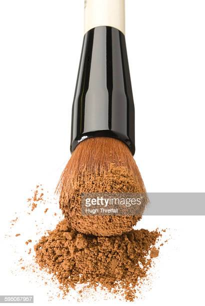 foundation makeup brush - hugh threlfall stock pictures, royalty-free photos & images