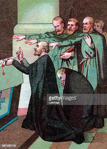 Foundation of the congregation of the Jesuits on 15th august 1534 Ignatius of Loyola and six others take the vows that lead to the establishment of...