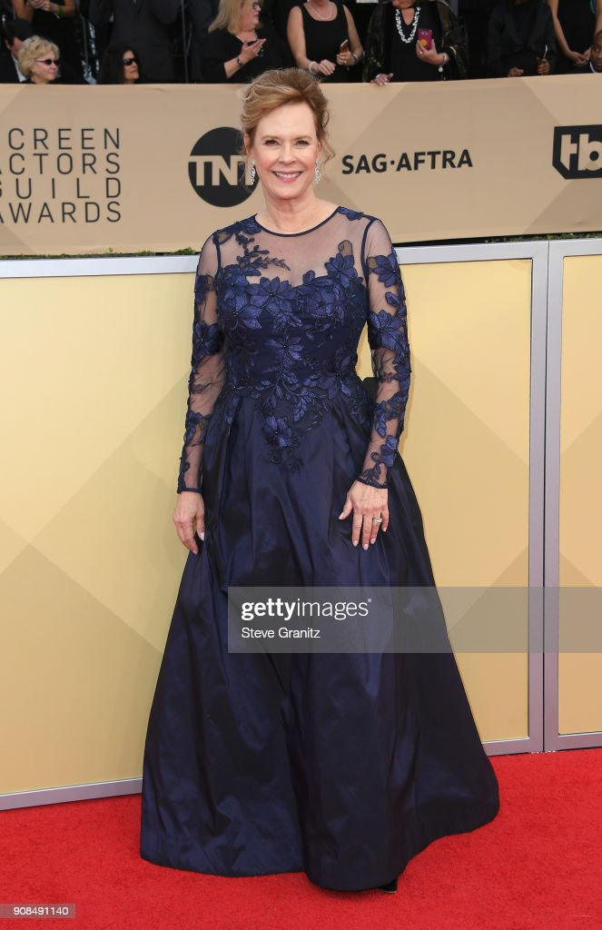 Foundation President JoBeth Williams attends the 24th Annual Screen Actors Guild Awards at The Shrine Auditorium on January 21, 2018 in Los Angeles, California.