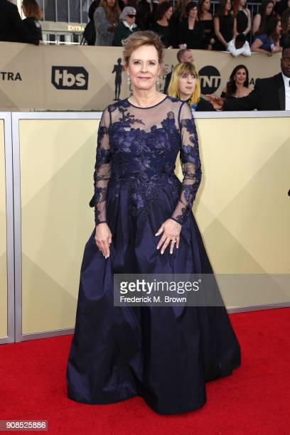 Foundation President JoBeth Williams attends the 24th Annual Screen Actors Guild Awards at The Shrine Auditorium on January 21 2018 in Los Angeles...