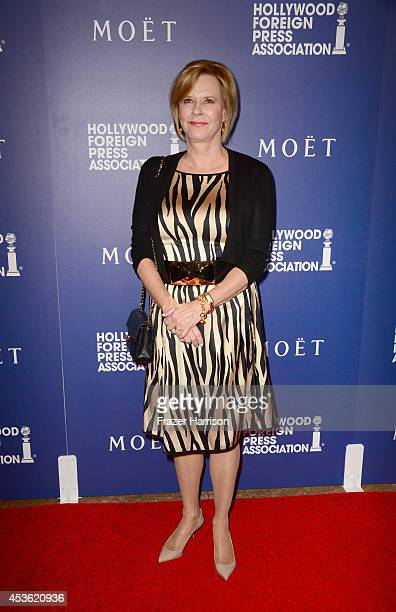 Foundation President JoBeth Williams attends The Hollywood Foreign Press Association Installation Dinner at The Beverly Hilton Hotel on August 14...