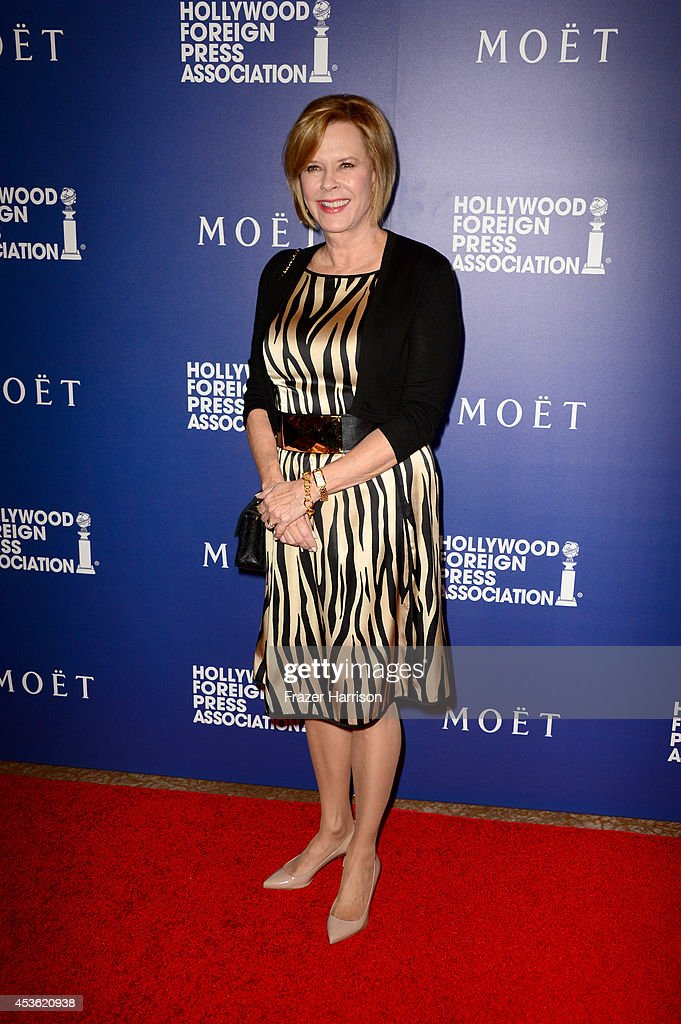 Foundation President JoBeth Williams attends The Hollywood Foreign Press Association Installation Dinner at The Beverly Hilton Hotel on August 14, 2014 in Beverly Hills, California.