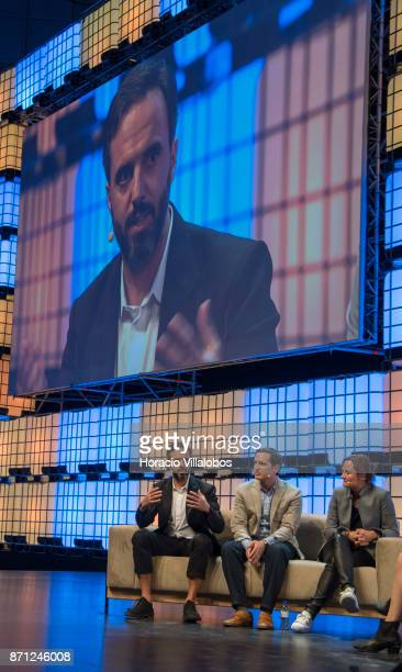 Founder and CEO Farfetch Jose Neves CoFounder and CEO DraftKings Jason Robins and Gillian Tans President and CEO Bookingcom discuss on 'It's lonely...